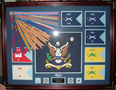 Dians S Flags Amp Guidons Framing Amp Woodwork